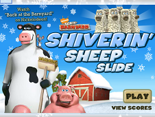Shiverin Sheep Slide