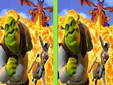 Shrek Spot the Difference