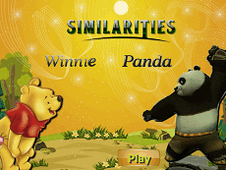 Similarities Winnie Panda