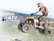 Snow ATV Racing