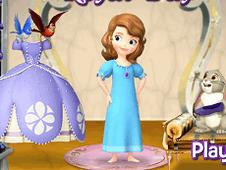 Sofia and her Royal Dress