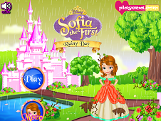 Sofia the First Rainy Day