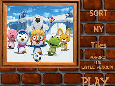 Sort My Tiles Pororo The Little Penguin