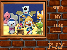 Sort My Tiles Pororo