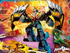 Sort My Tiles Power Rangers