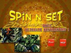 Spin N Set Hulk Ultimate Destruction
