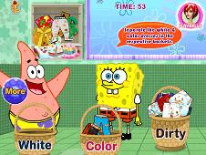 Spongebob Squarepants Washing Pants