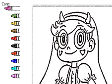 Star Vs the Forces of Evil Coloring