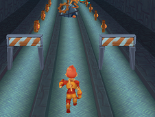 Subway Robo Runner