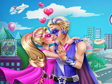 Super Barbie Kissing