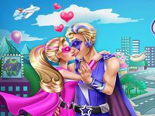 Super Barbie Kissing