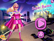 Super Barbie Villain Defeat
