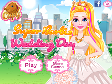 Super Barbie Wedding Day