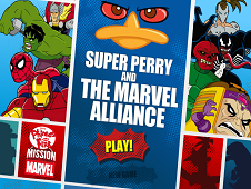 Super Perry and the Marvel Aliance