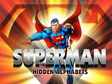 Superman Hidden Alphabets