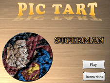 Superman Pic Tart