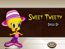 Sweet Tweety Dress Up