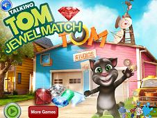 Talking Tom Jewel Match