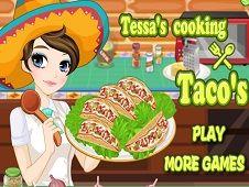 Tessas Cooking Tacos