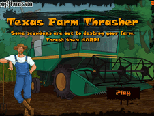 Texas Farm Thrasher