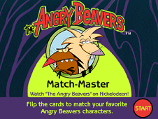 The Angry Beavers Match Master