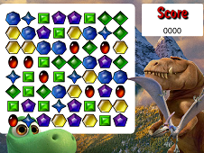 The Good Dinosaur Match Three