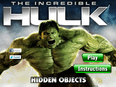 The Incredible Hulk Hidden Objects