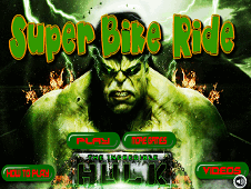 The Incredible Hulk Super Bike Ride