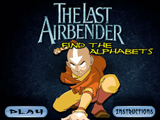 The Last Airbender Find The Alphabet