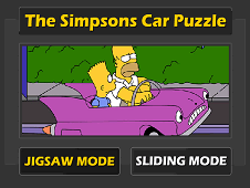 The Simpsons Car Puzzle