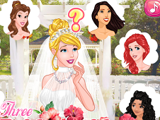 Three Bridesmaids for Princess