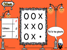 Tic Tac Toe with Calimero
