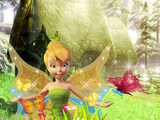 Tinkerbell Garden Decor