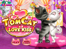 Tom Cat Love Kiss