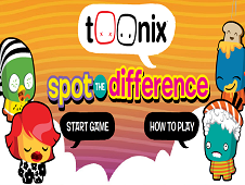Toonix : Spot the difference