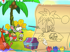 Toopy And Binoo Pirate Island Coloring