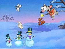 Toopy And Binoo Snowman