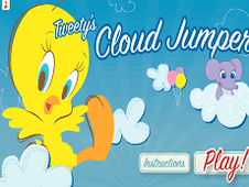 Tweety Cloud Jumper