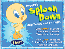 Tweety Splash Down