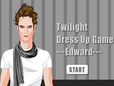 Twilight  Dress Up Game Edward