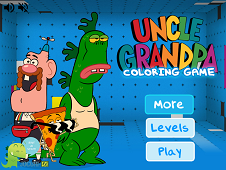 Uncle Grandpa Coloring