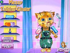 Messy Talking Ginger