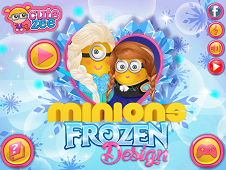 Minion Frozen Design
