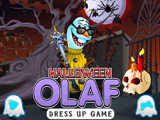 Halloween Olaf Dress Up Game