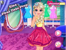 Elsa First Date Preparation