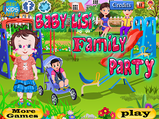 Baby Lisi Family Party