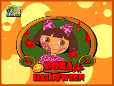 Halloween Dora Dress Up