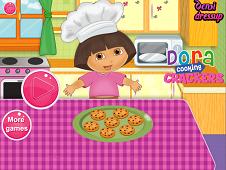 Dora Cooking Crackers