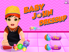 Baby John Dress Up