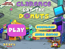 Clarence Eat The Donut